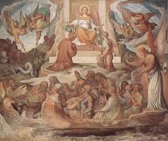 Joseph Anton Koch, Detail des Dante-Zyklus in der Casa Massimo